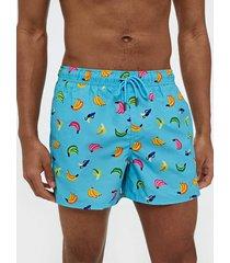 happy socks banana swim shorts badkläder mönstrad