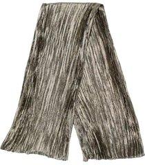 saint laurent scarf echarpe plisse