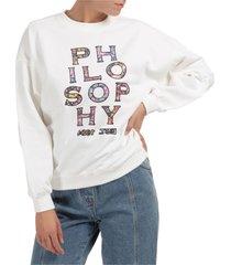 philosophy di lorenzo serafini life is sweatshirt