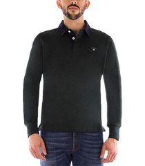 polo shirt lange mouw gant the original heavy rugger