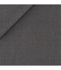 giacca da uomo su misura, loro piana, grigia hopsack, quattro stagioni