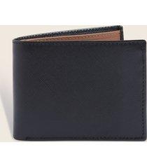 billetera negro-uni