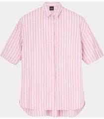 camicia mod striped shirt