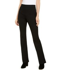 i.n.c. pull-on ponte-knit bootcut pants, created for macy's