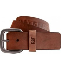 cinturón bitterroot leather belt marrón cat