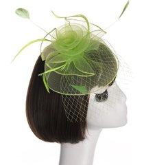 sombrero mujer tocado creativo novia cabeza flor malla hilado flor sombrero