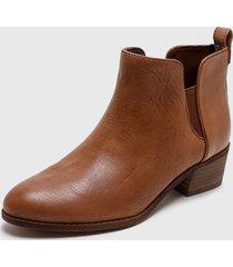 botín marrón tommy hilfiger