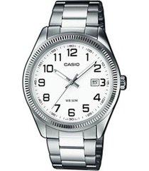 reloj kcasltp 1302d 7b casio-plateado