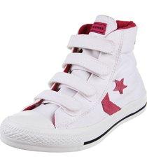 zapatilla blanca converse star player 4v