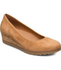 ballerinas sko wedge brun gabor