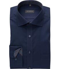 eterna shirt donkerblauw met borstzak