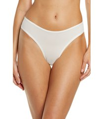 skims fits everybody thong, size xx-small regular in marble at nordstrom