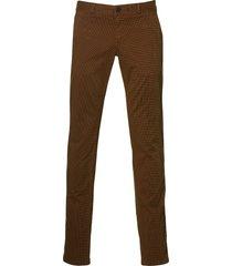 sale - hensen jeans - slim fit - bruin