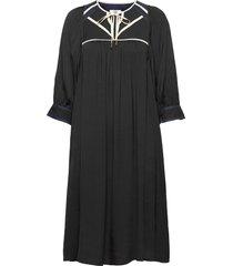 dress long sleeve dresses everyday dresses svart noa noa