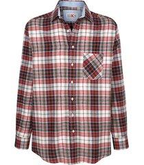 overhemd roger kent rood::kaki::marine