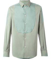 al duca d'aosta 1902 paneled longsleeved shirt - green