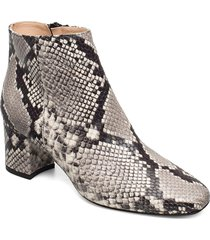 h ymoon shoes boots ankle boots ankle boot - heel grå jennie-ellen