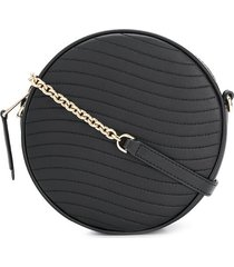 furla swing mini crossbody bag - black