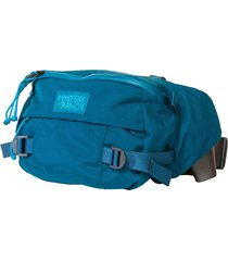 mystery ranch hip monkey waist bag - aegean blue mr-184905 aeg hip monk