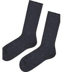 calzedonia short cuffed cotton socks, no elastic man grey size tu