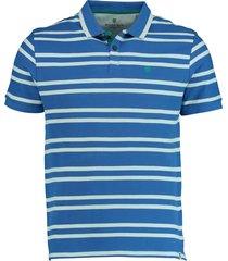 basefield shirt 1/2 219014262/611 licht blauw