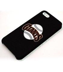 giants major league baseball logo hardshell case for iphone 5 5s