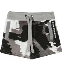 dolce & gabbana camouflage shorts