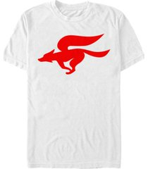 nintendo men's star fox logo short sleeve t-shirt