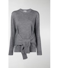 chloé fine knit tie-waist top