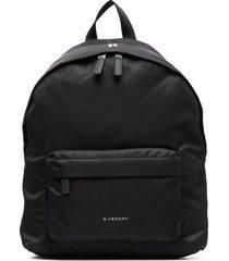 givenchy man essentiel u backpack in black nylon