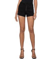 bcbgmaxazria high-rise denim shorts