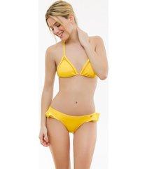 bikini amarilla guaraná pétalo