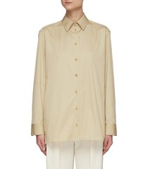cotton tailored shirt