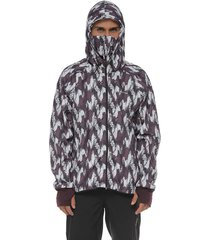 chaqueta protección con antifluido vinotintoracketball