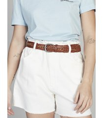 quiksilver womens braided leather belt