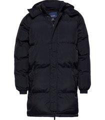 outerwear gevoerd jack blauw blend