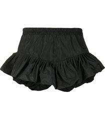 philosophy di lorenzo serafini ruffled elasticated waist shorts -