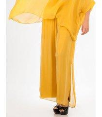 pantalones amarillo derek 818441