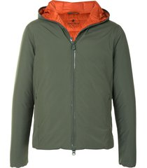 save the duck light recycled gore-tex synthetic down jacket - green