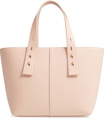 frame les second medium tote in soft pink at nordstrom