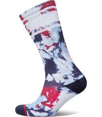 th unisex tommy jeans sock 1p tie d lingerie socks regular socks blå tommy hilfiger