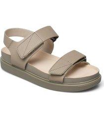 erin shoes summer shoes flat sandals brun vagabond