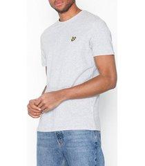 lyle & scott crew neck t-shirt t-shirts & linnen light grey
