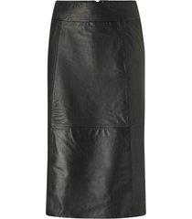 skinnkjol slfardee hw leather skirt