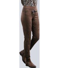 sweatpants alba moda bruin