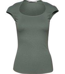 glabra t-shirts & tops short-sleeved groen tiger of sweden