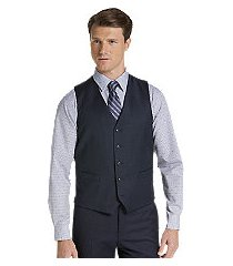 1905 collection tailored fit men's suit separate vest with brrr comfort by jos. a. bank