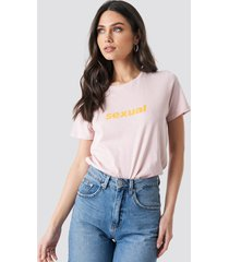 na-kd trend sexual tee - pink