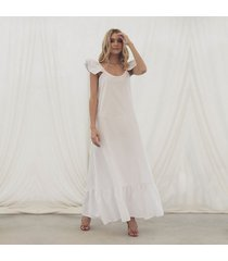 vestido miranda blanco