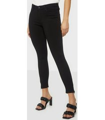 noisy may nmkimmy nw ankle zip jeans black no skinny
